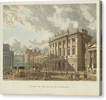 The Bank Of England Canvas Print