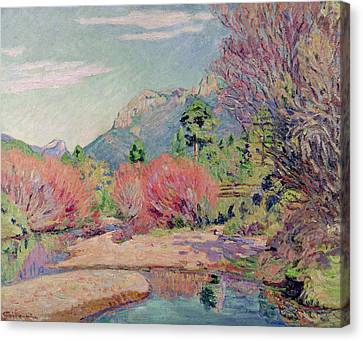 The Banks Of The Sedelle At Crozant Canvas Print