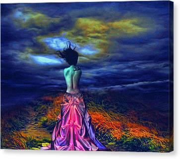 The Bareback Duchess Canvas Print by Tyler Robbins