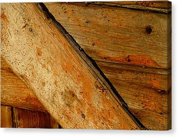 The Barn Door Canvas Print by William Jobes