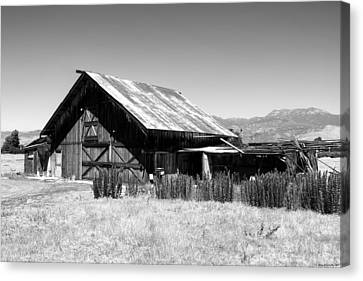 The Barn Canvas Print by Glenn McCarthy Art and Photography