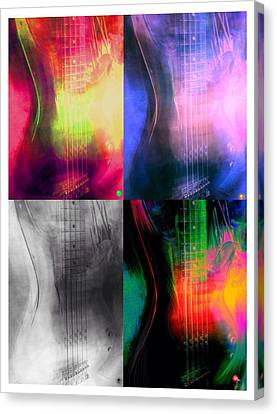 The Bass Canvas Print by Ryan Reschke