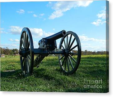 Canvas Print featuring the photograph The Battle Is Over - Gettysburg by Emmy Marie Vickers
