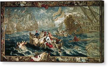 The Battle Of La Hogue, May 1692 Canvas Print by Everett