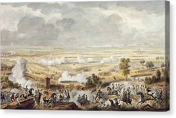 The Battle Of Marengo, 23 Prairial Canvas Print