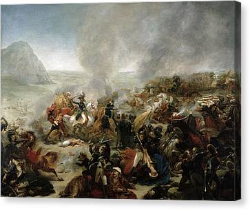 The Battle Of Nazareth Canvas Print by Baron Antoine Jean Gros