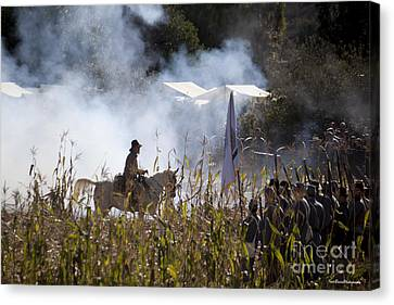 The Battle Scene Canvas Print by Ivete Basso Photography