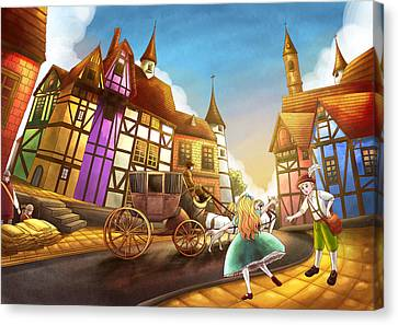 The Bavarian Village Canvas Print by Reynold Jay