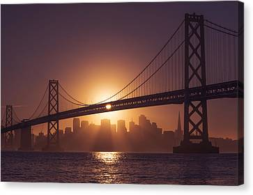 Canvas Print featuring the photograph The Bay by Dustin  LeFevre