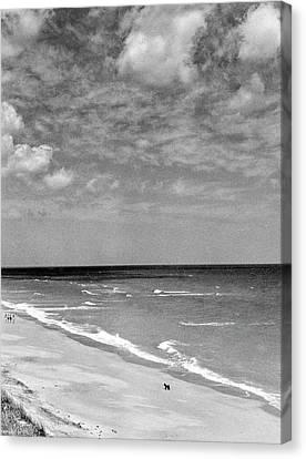The Beach At Hobe Island Canvas Print