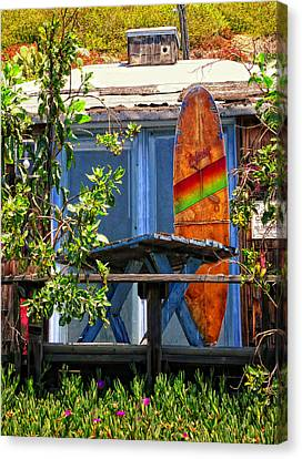 The Beach Shack Canvas Print