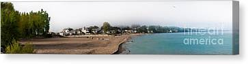 The Beaches Of Seabreeze Canvas Print by Ken Marsh