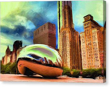 The Bean - 20 Canvas Print by Ely Arsha