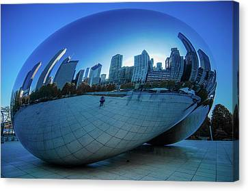 The Bean Canvas Print by Jonah  Anderson