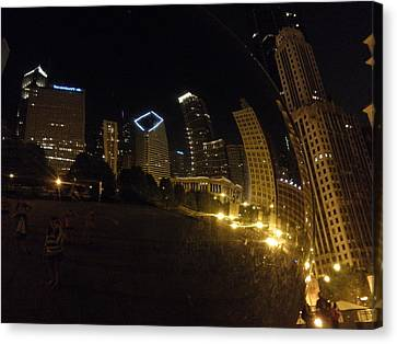 Canvas Print featuring the photograph The Bean by Tiffany Erdman