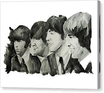 The Beatles 2 Canvas Print