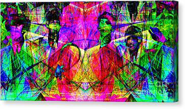 The Beatles 20130615 Canvas Print by Wingsdomain Art and Photography