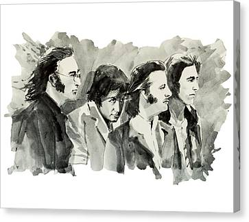The Beatles 3 Canvas Print