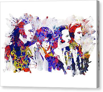 The Beatles 4 Canvas Print