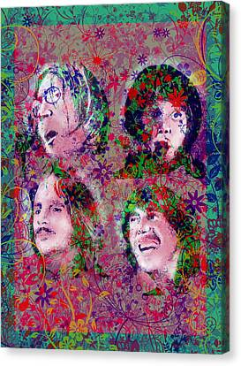 The Beatles 8 Canvas Print