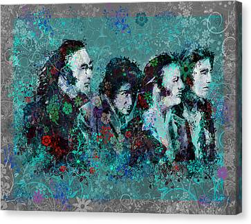 The Beatles 9 Canvas Print by Bekim Art