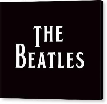 The Beatles Canvas Print by Marvin Blaine