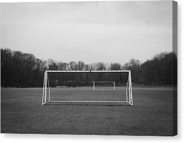 The Beautiful Game Canvas Print by Richie Stewart
