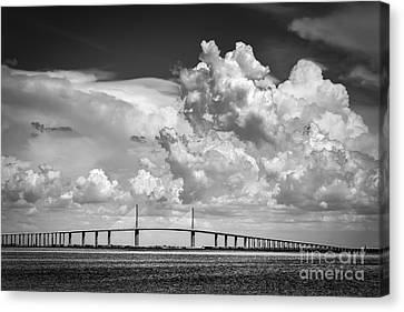 The Beautiful Skyway Canvas Print by Marvin Spates
