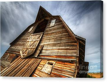 The Beauty Of Barns 3 Canvas Print by Bob Christopher