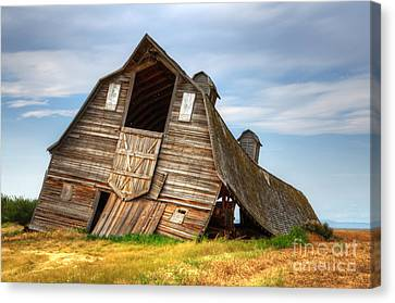 The Beauty Of Barns  Canvas Print by Bob Christopher