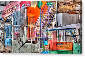 The Beauty Of Nachlao't Canvas Print by Uri Baruch