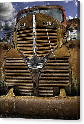 The Beauty Of Rust Canvas Print by Gary Neiss