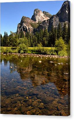 The Beauty Of Yosemite Canvas Print by George Bostian