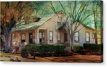 The Beckley House Canvas Print