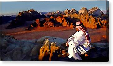The Bedouin Canvas Print by Jann Paxton