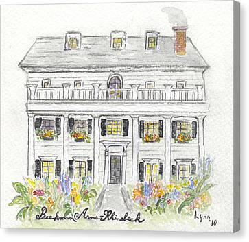 The Beekman Arms In Rhinebeck Canvas Print by AFineLyne