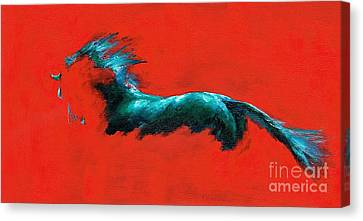 The Beginning Of Life Canvas Print by Frances Marino