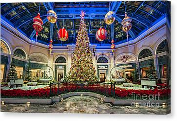 The Bellagio Christmas Tree Canvas Print by Aloha Art