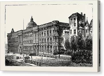 Berlin Canvas Print - The Berlin Congress by German School