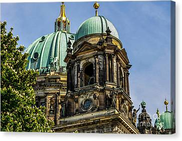 The Berlin Dome Canvas Print by Sabine Edrissi
