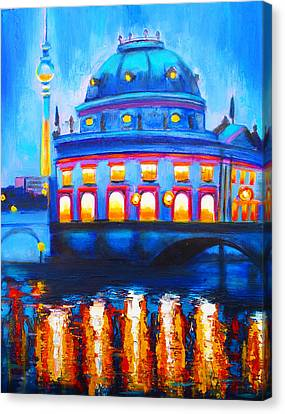 The Berlin Musuem Canvas Print by Susi Franco