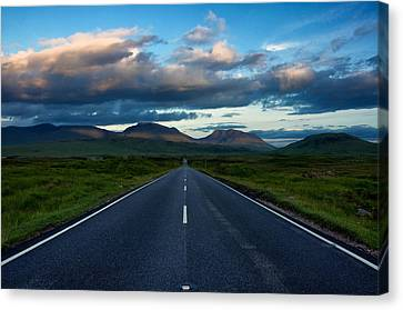 Canvas Print featuring the photograph The Best Drive...ever... by Stephen Taylor