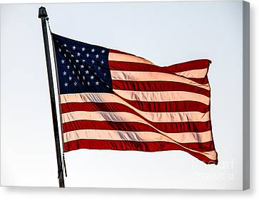 The Best Of Old Glory Canvas Print by Robert Bales