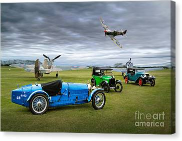 Airoplane Canvas Print - The Best Of The Best by Gordon Hart