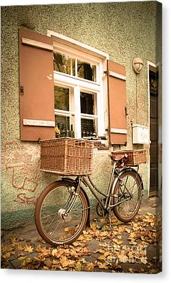 The Bicycle Canvas Print by Hannes Cmarits