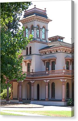 The Bidwell Mansion Canvas Print