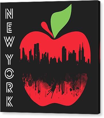 the Big Apple Canvas Print by Mark Ashkenazi