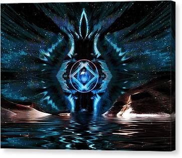 The Big Bang Canvas Print by Mario Carini