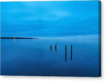 The Big Blue Canvas Print by Donnie Smith