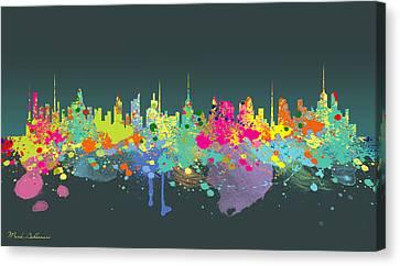 The Big City  Canvas Print by Mark Ashkenazi